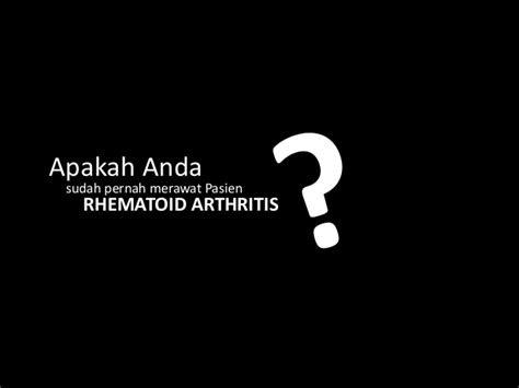 asuhan keperawatan pasien osteomielitis  rhematoid