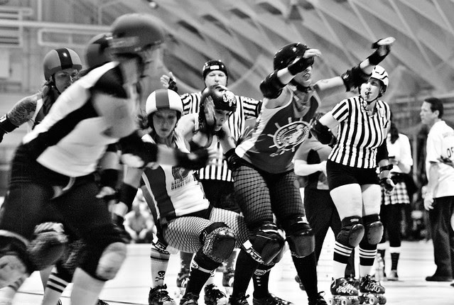 roller derby mayhem!