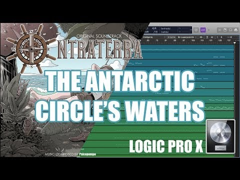 ♪♫♬ The Antarctic Circle's waters