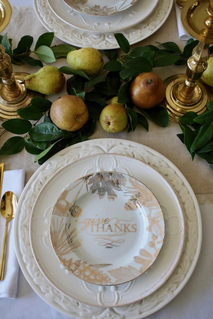 Maison de Cinq Thanksgiving