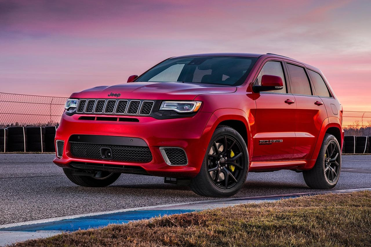 2018 Jeep Grand Cherokee Trackhawk is the Most Powerful ...