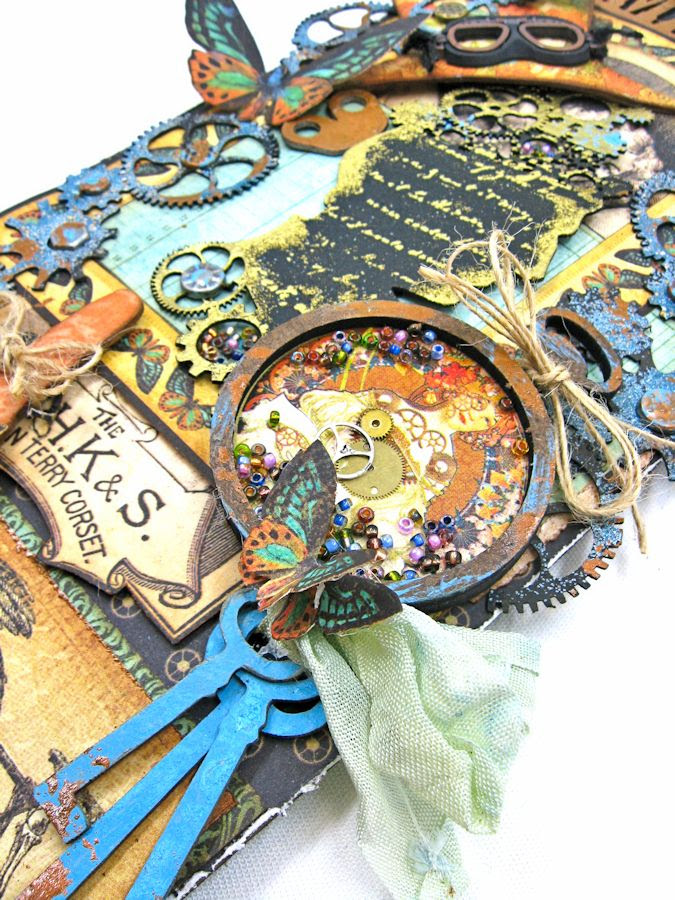 Steampunk Debutante Tag Folio by Kathy Clement for Gypsy Soul Lasercuts Product Graphic 45 Steampunk Debutante 04