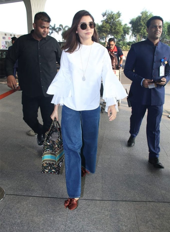 ANUSHKA'S EFFORTLESSLY CHIC STYLE IS MAJOR GOALS
