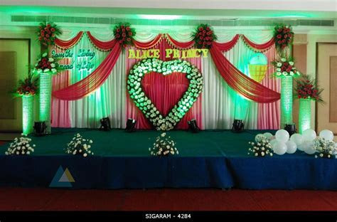 Wedding Reception Decoration done at Mass hotel