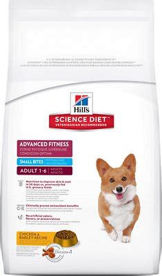 hills science diet adult advanced fitness small bites dry