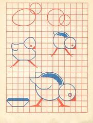 n2 cahier dessin carreau p11