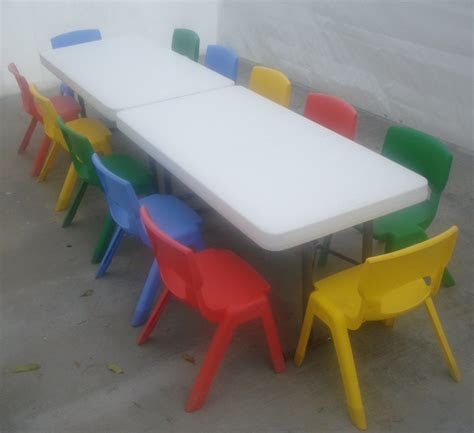 Kings Fun House ~ Jumpers & party rentals   Kids Tables