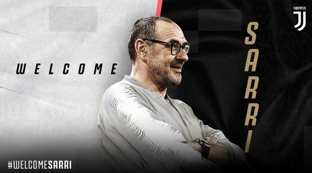 Maurizio Sarri Pelatih Juventus