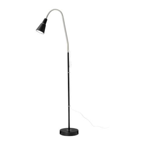 KVART Floor/reading lamp - black - IKEA