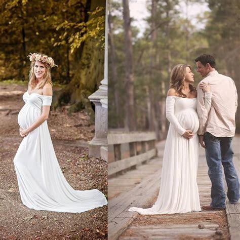 2019 Wedding Dresses For Pregnant Women Simple Plus Size
