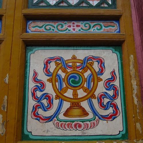 Temple detail, Emeishan, Sichuan