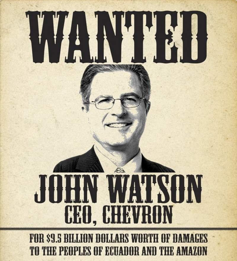 Wanted: Chevron CEO John Watson