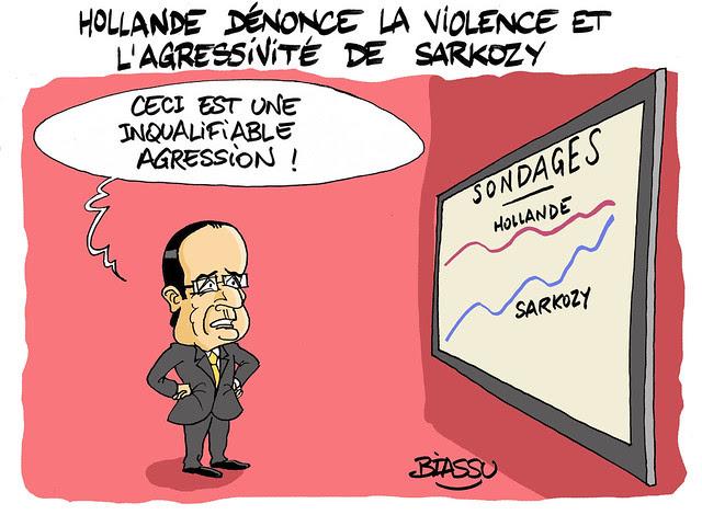 Hollande+Sarkozy+humour