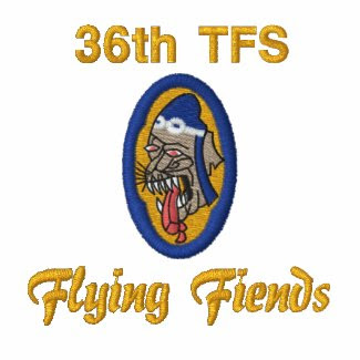 F-86 Flying Fiends Embroidered Polo Shirts
