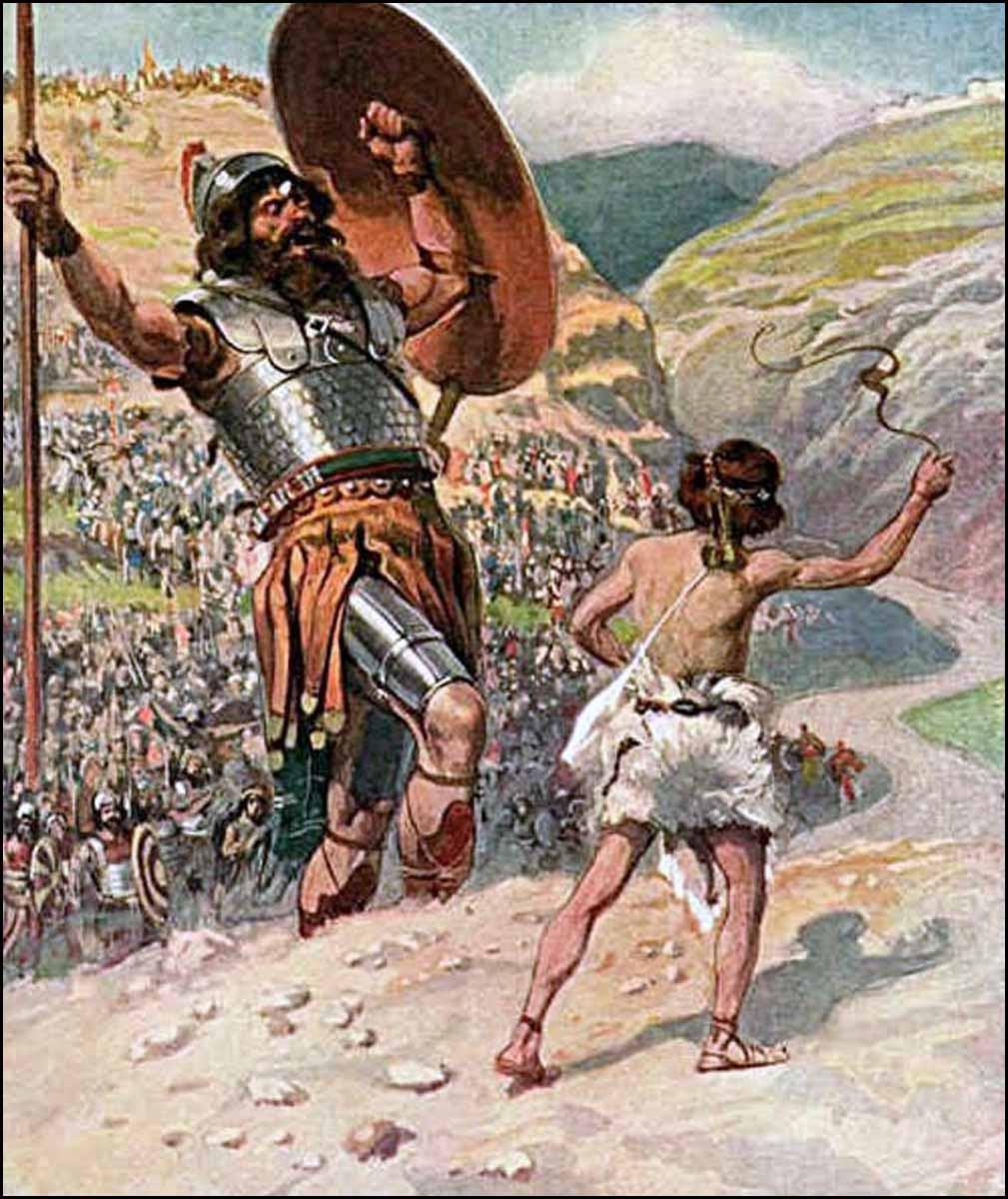 Hasil gambar untuk 12 prajurit Isyboset lawan 12 orang prajurit Daud