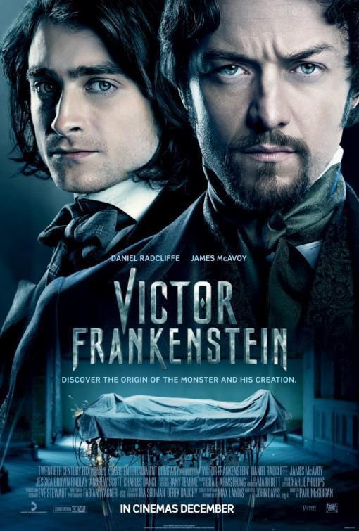 cine, cartelera, Victor Frankesntein, Frankenstein, película, blog de cine, solo yo, blog solo yo, horror, terror,