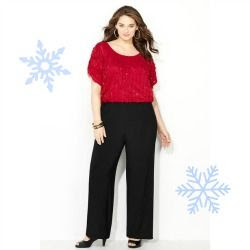 Avenue Plus Sizes Holiday Outfit