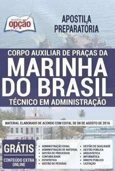 Apostila Digital em PDF da Marinha do Brasil do Corpo Auxiliar de Praças
