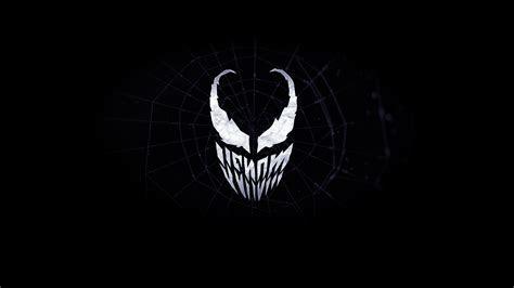 venom minimalist logo  wallpaper  wallpaperhunt