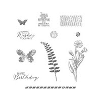 Butterfly Basics Clear-Mount Stamp Set by Stampin' Up!