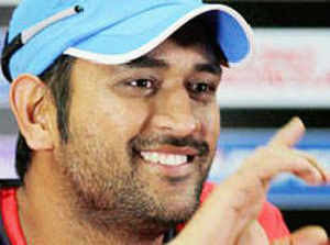 Captain Cool shoves Bangla bowler who blocked him