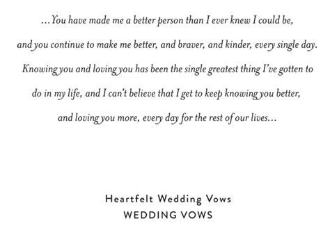 Heartfelt Personal Wedding Vows for Him and for Her