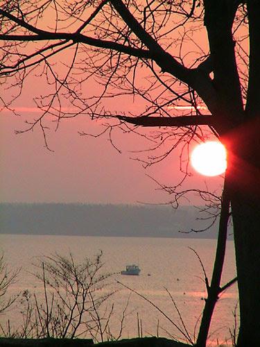 rockland maine sunrise