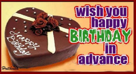 Happy Birthday In Advance. Free Happy Birthday eCards