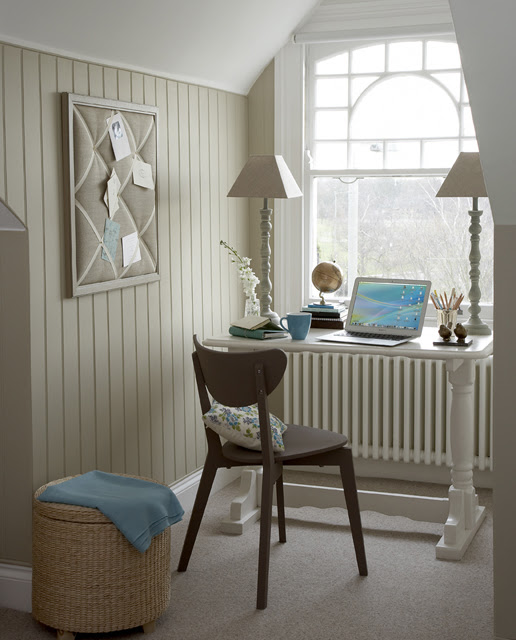 Compact Home Office On A Landing