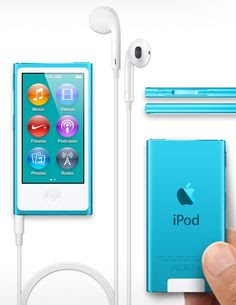 The new iPod Nano // blue