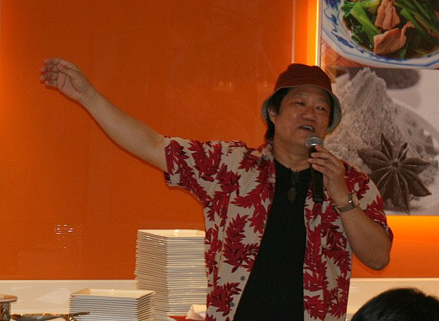 KF Seetoh hosted the media lunch