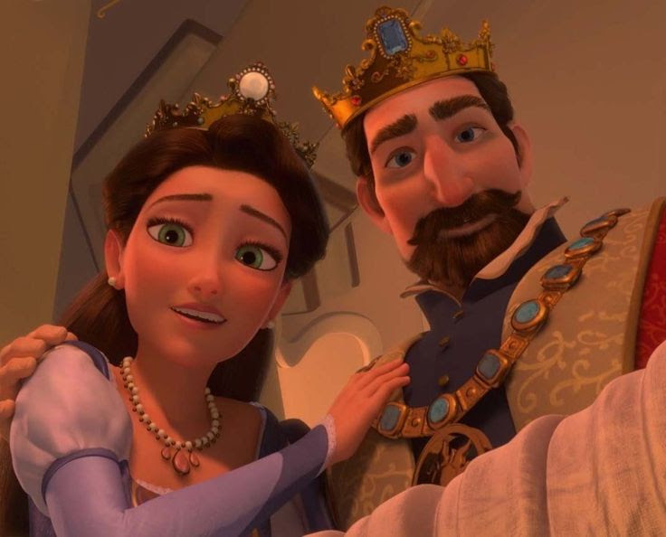 Image result for rapunzel's parents
