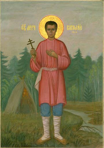 ο μάρτυρας Νικολάι (Γκουσέφ), ο ευλογημένος Νικόλαος