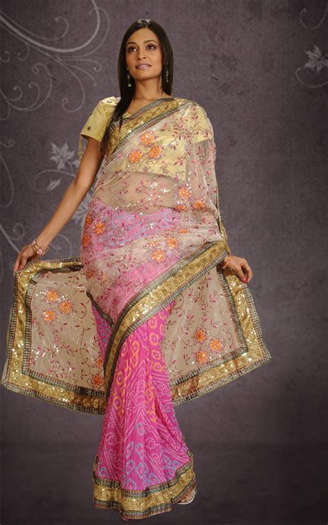 Bandhani Saree Designs: Latest Collection Beautiful