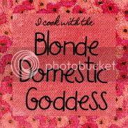 Blonde Domestic Goddess