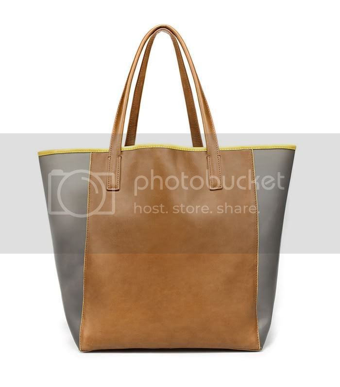 Shopper Vinilo Zara