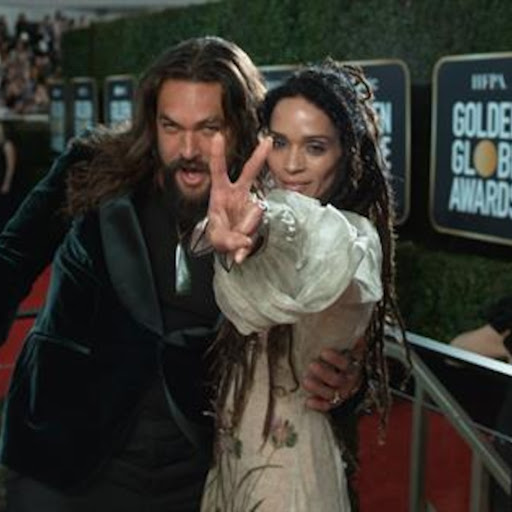 Avatar of Jason Momoa & Lisa Bonet - 2020 Golden Globe Awards E! Glambot