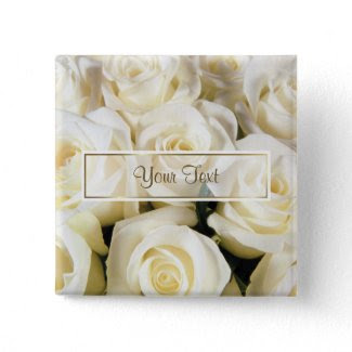 White Rose Elegance Template button