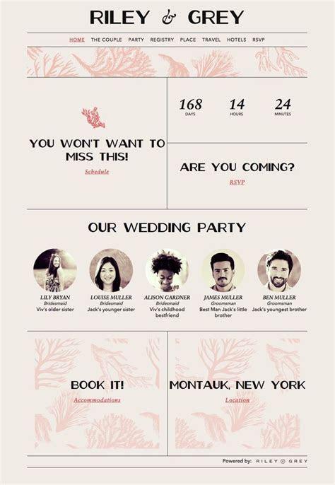Best 25  Wedding website examples ideas on Pinterest   Web