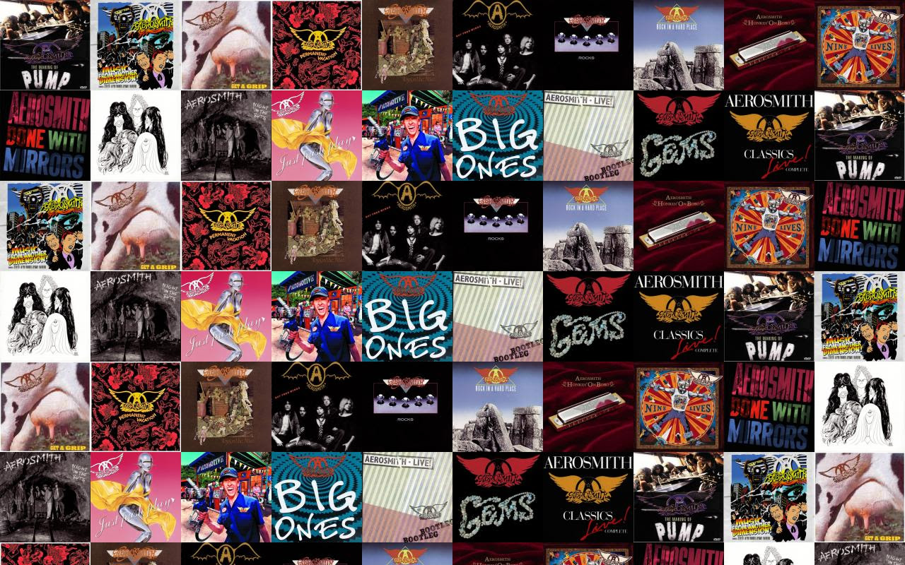 Aerosmith Pump Music From Another Dimension Get Grip Wallpaper