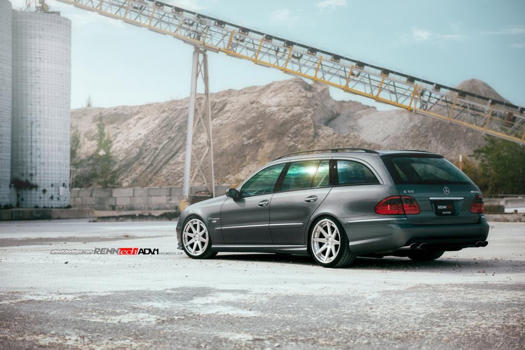 RENNtech Mercedes E55 AMG Is the Devil's Station Wagon ...