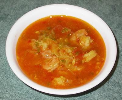 Shrimp White Curry