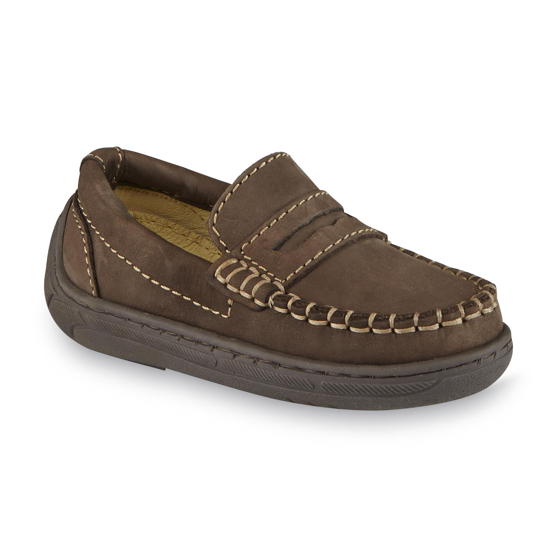 Primigi Toddler Boy's Choate Leather Penny Loafer - Brown