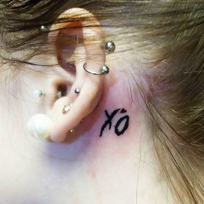 80 Best Behind The Ear Tattoo Designs Meanings Nice Gentle 2018