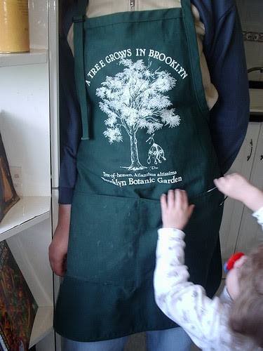 My husband's apron