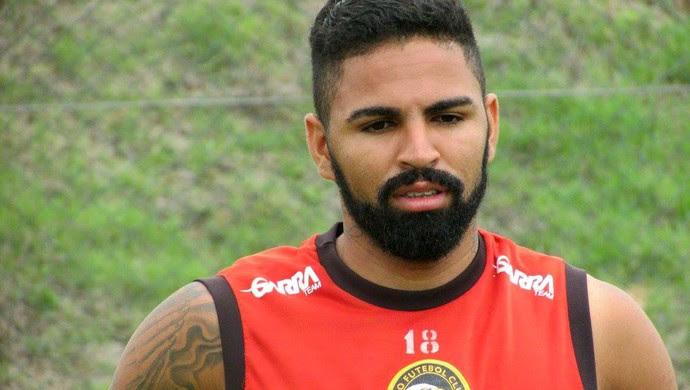Globo FC - Romarinho, atacante (Foto: Rhuan Carlos/Globo FC/Divulgação)