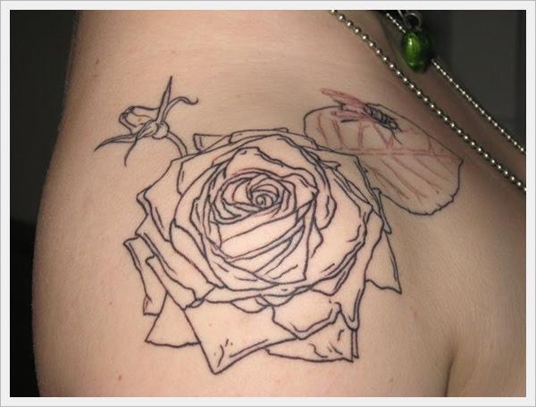 35 Amazing Rose Tattoo Designs