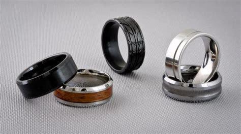 Alternative Metals for Men?s Jewelry : Titanium, Tungsten