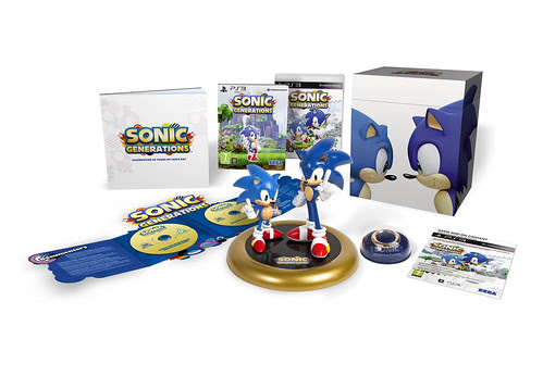 Sonic Generations Collector's Edition - UK PS3