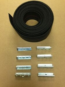 WEBBING REPAIR KIT - 16' OF STRAP + 16 CLIPS FOR WICKER ...